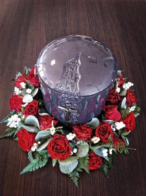 dekoracja urny 5 – cena: 209 zł.